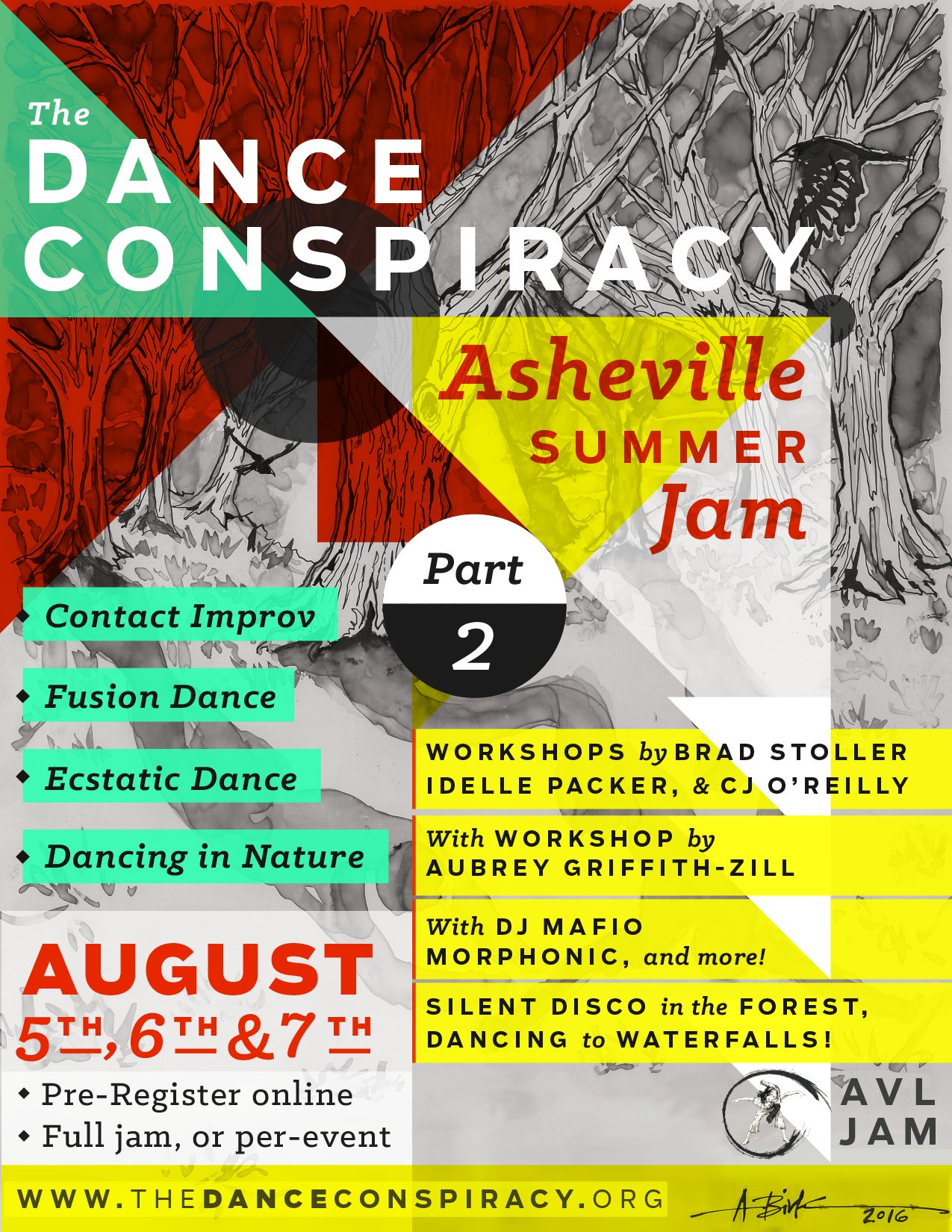 The Dance Conspiracy – Asheville Summer Jam