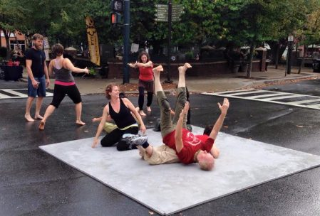 The Dance Conspiracy and Asheville Jam at Open Streets Asheville